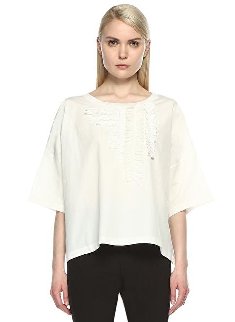 Boutique Moschino Bluz Beyaz